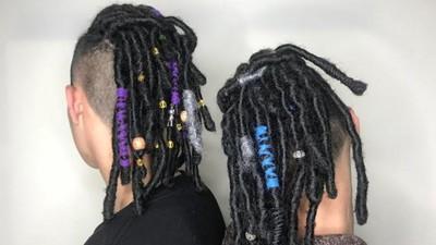 2018嘻哈瘋上頭!綁成粗獷「髒辮」加髮帶 不說唱也變型男