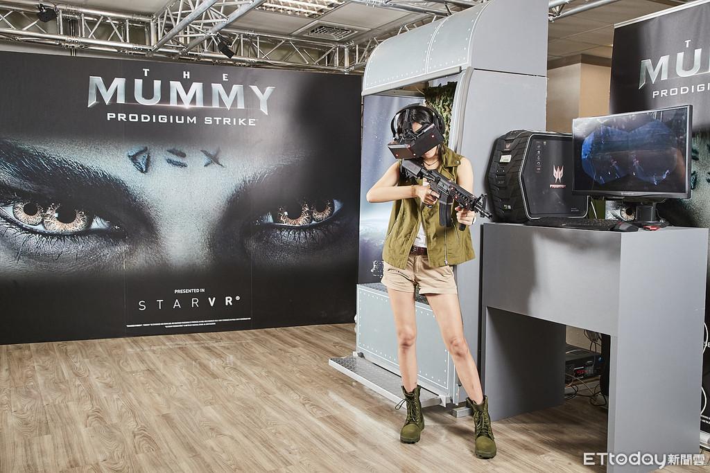宏碁展示StarVR以210度5K內容回鍋搶進台灣商務VR市