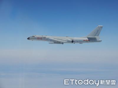 轟6又擾台 國防部:派遣機全程掌握