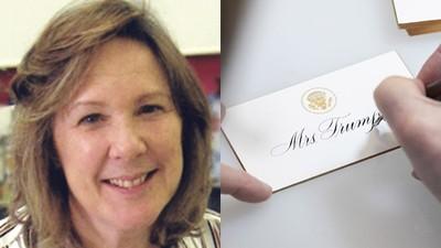 白宮聘她「專寫人名」!首席書法家用筆印鈔 年薪打趴川普女婿