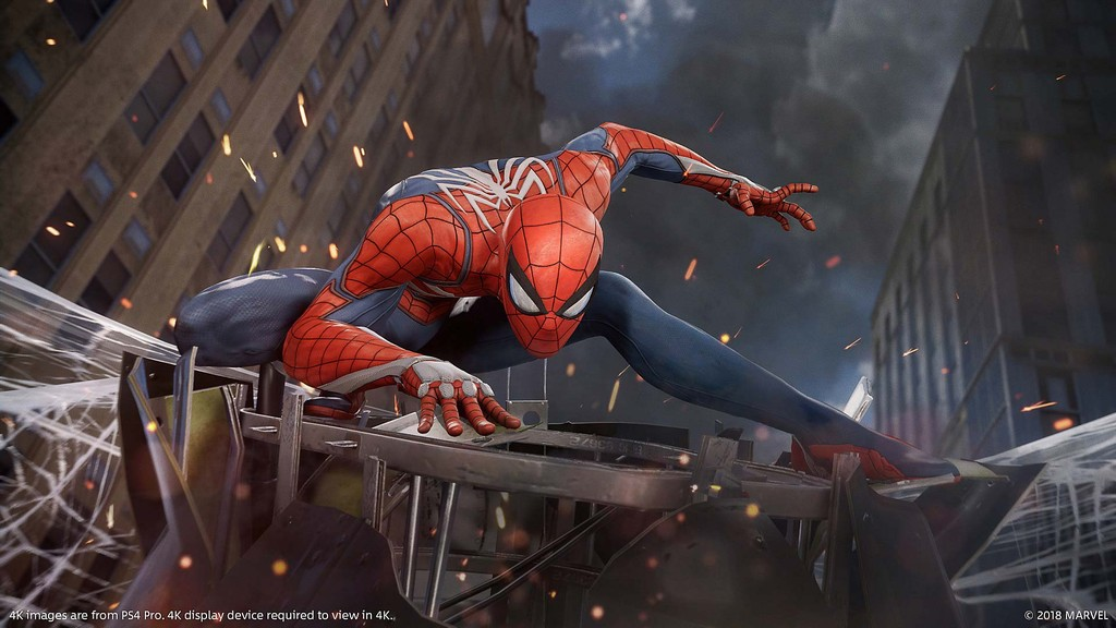 飛簷走壁!PS4獨佔遊戲《蜘蛛人》中文版發售日公開