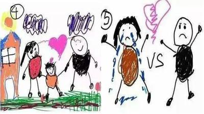 9歲男孩畫出父母離婚全過程,結尾吐心聲讓人好意外