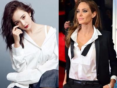 5款白襯衫穿搭出微辣女人味