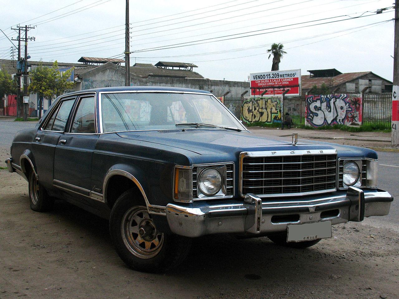 ▲▼Ford Granada Ghia 1977(圖/Wikipedia)
