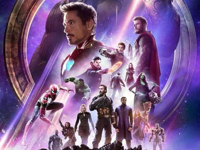 ▲▼《復仇者聯盟3:無限之戰》海報。(圖/翻攝自Marvel臉書)