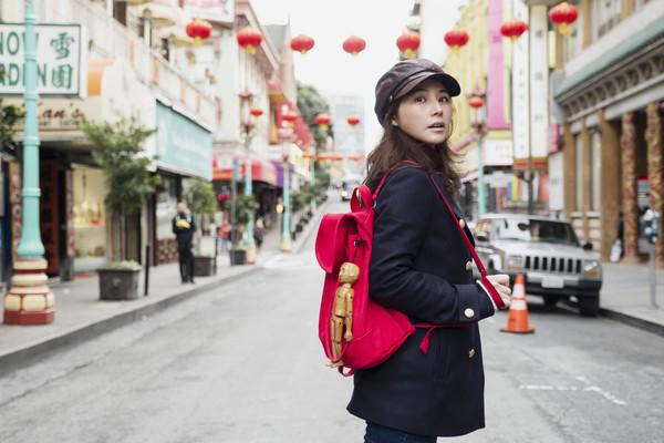 ▲▼陳怡蓉遠赴舊金山拍攝《雙城故事》,殺青公布懷孕好消息。(圖/青睞影視提供)