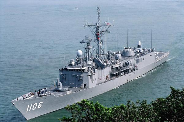 成功級飛彈巡防艦1106