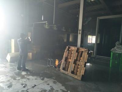彰化金屬工廠火警「閃燃」10傷
