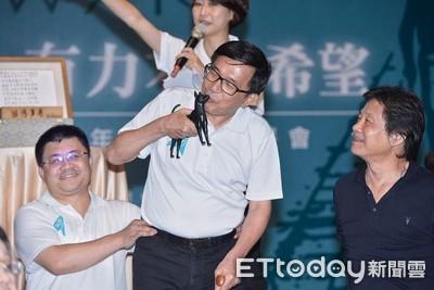 陳水扁5月9日演講 羅智強:蔡英文接招!