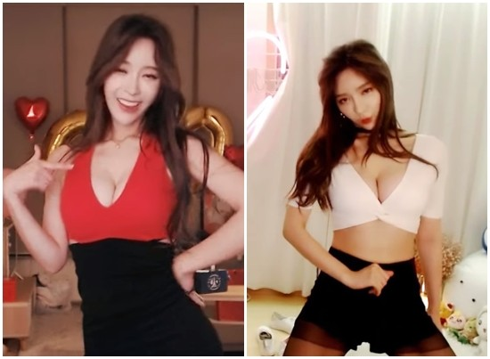 ▲南韓知名直播主BJ겨울被搭訕。(圖/翻攝自YouTube)