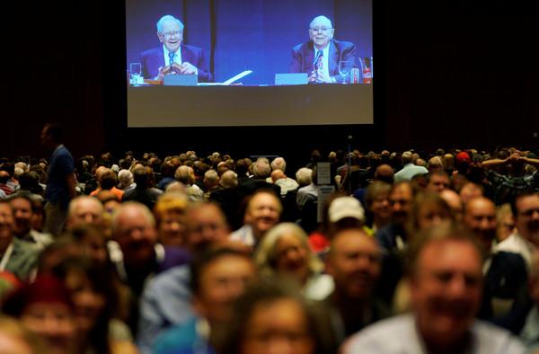 ▲▼ 股神巴菲特(Warren Buffett)經營的波克夏海瑟威(Berkshire Hathaway)公司5日舉行年度股東大會。(圖/路透社)