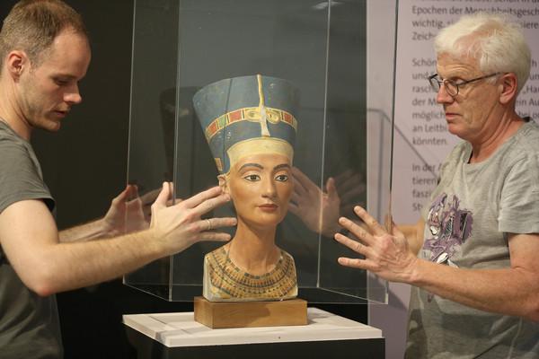 ▲▼ 納芙蒂蒂(Nefertiti)。(圖/達志影像/美聯社)