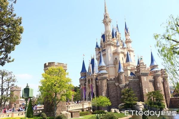 ▲▼東京迪士尼樂園灰姑娘城堡,仙杜瑞拉城堡。(圖/記者蔡玟君攝)