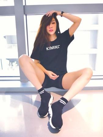 ▲KIMIKO身材火辣,擁有許多粉絲。(圖/取自KIMIKO臉書)