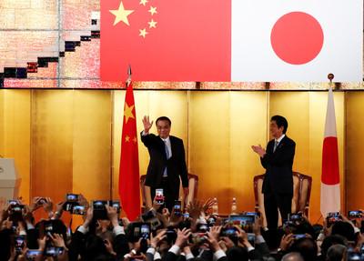 改善關係 安倍計畫最快10月訪北京