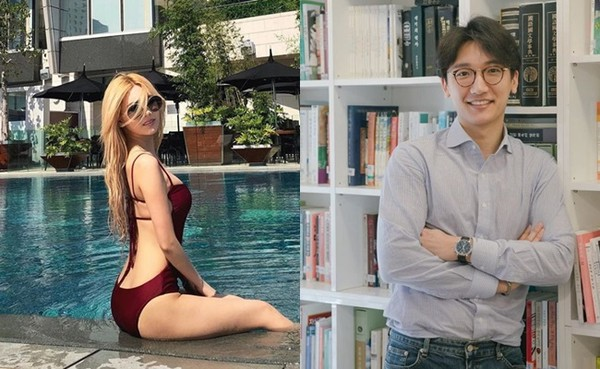 ▲T-ara居麗與律師張天在日本約會被目擊。(圖/翻攝自居麗、張天Instagram)