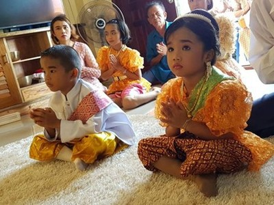 泰國龍鳳胎3歲舉行婚禮!前世殉情愛得苦 這輩子完成夫妻遺願