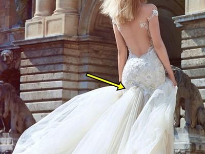 20場服裝史詩慘劇,婚紗像巨型水柱「下體噴發」