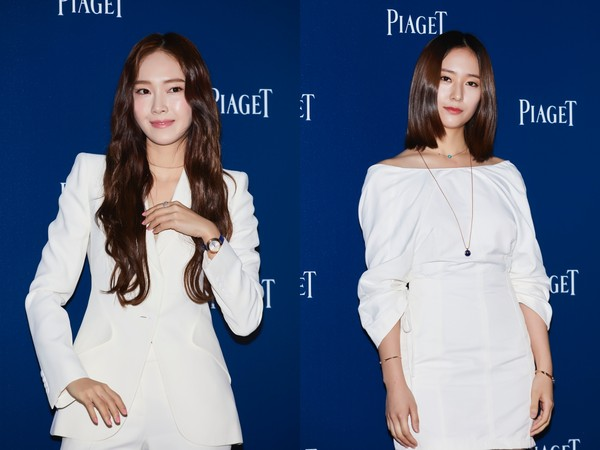 ▲伯爵讓Jessica、Krystal合體(圖/品牌提供)