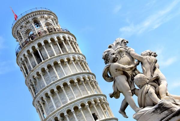 ▲ 義大利比薩斜塔已經屹立640多年。(圖/達志影像/美聯社)