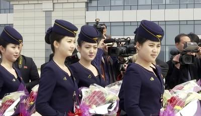 北韓高麗航空2020空姐月曆曝光