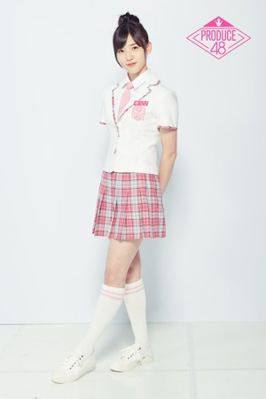 ▲▼ 《Produce 48》下尾美羽。(圖/翻攝自Mnet官網)