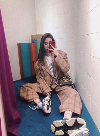 ▲▼歐陽妮妮爆受邀「組南韓女團。(圖/翻攝自歐陽妮妮臉書)