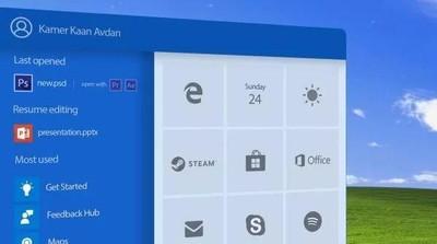 設計師製作2018版本的Windows XP