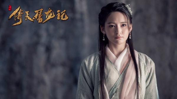 ▲20歲的孫安可飾演「楊不悔」。(圖/翻攝自《倚天屠龍記》微博)
