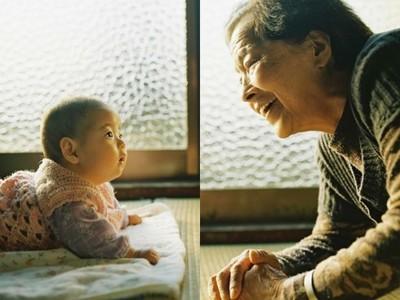 「跨四代祖孫情」日常寫真 鏡頭下紀錄她的成長、您的衰老