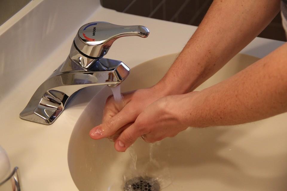 ▲洗手台。(圖/取自Pixaby網站)