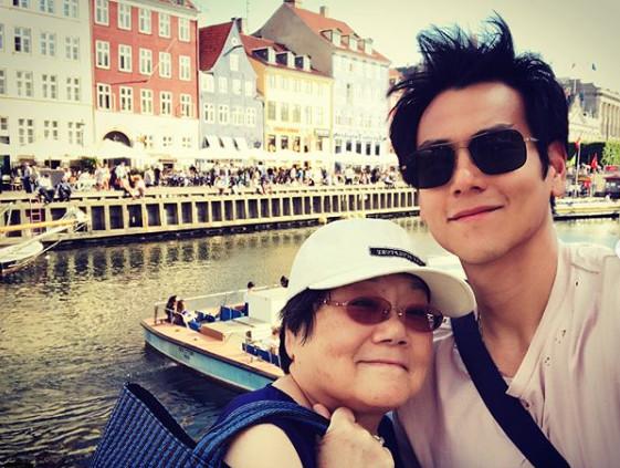 ▲彭于晏日前與家人在丹麥旅遊。(圖/翻攝自彭于晏Instagram)