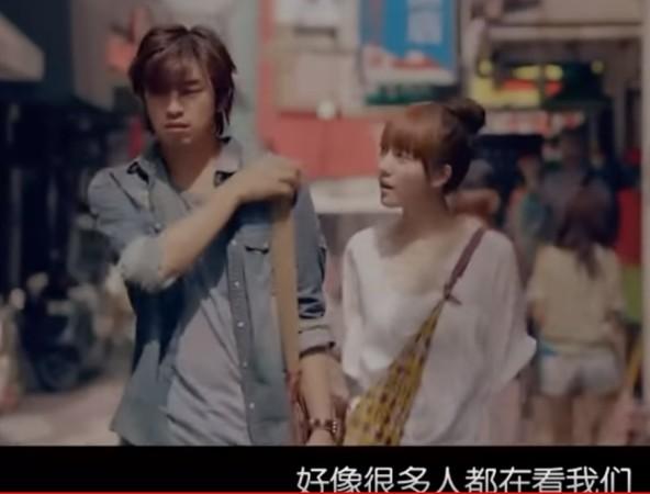 ▲陳柏霖和庭萱曾合作《變身》,有傳兩人就是因戲擦出火花。(圖/翻攝自YouTube)