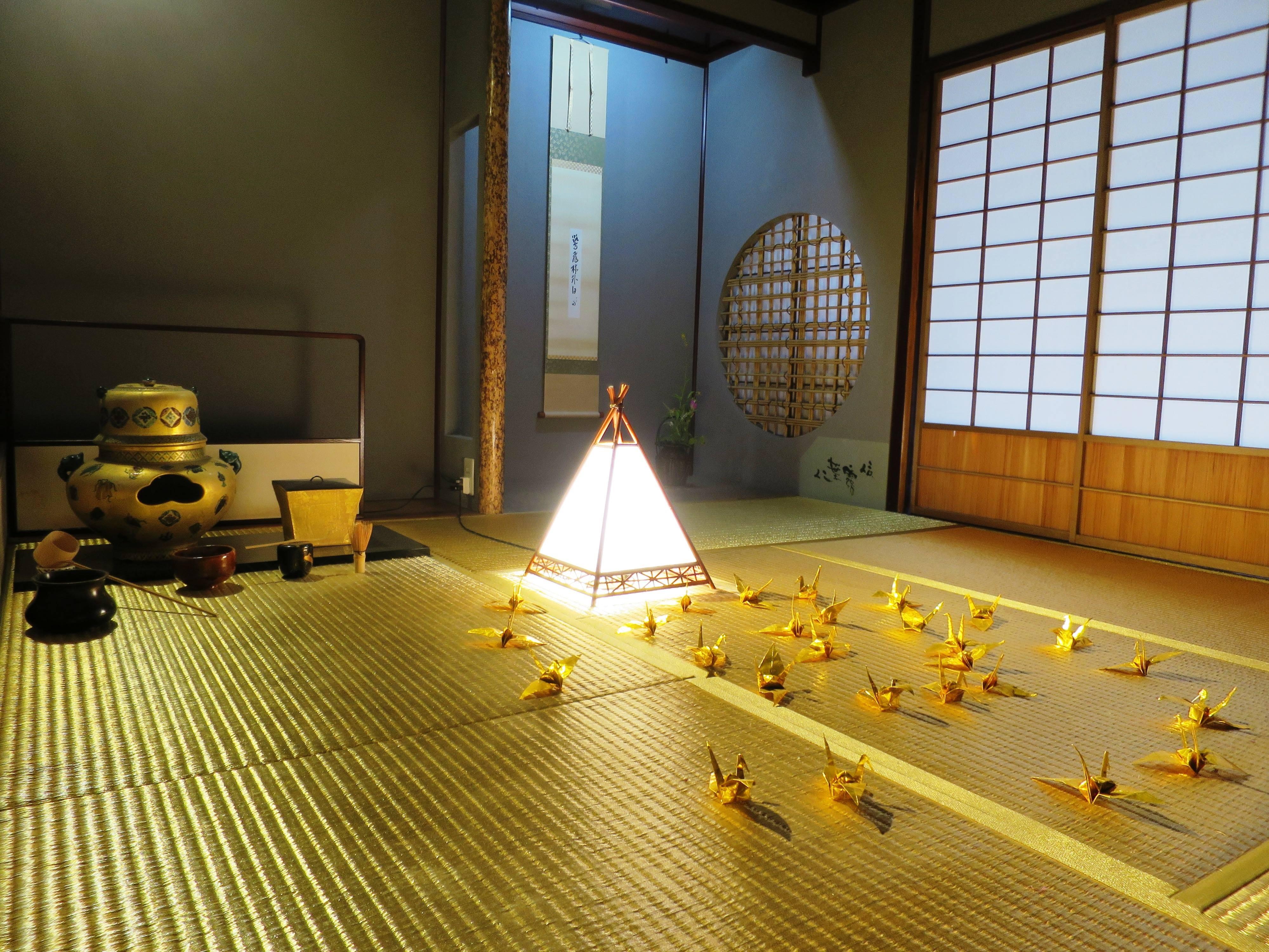 懷華樓的金箔榻榻米客間(圖/業者時報文化提供,請勿隨意翻拍,以免侵權。)