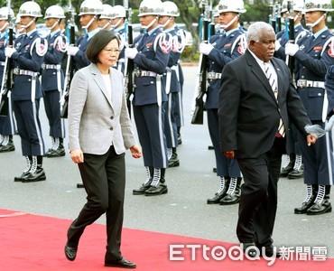 路透:索羅門群島與台灣關係動搖
