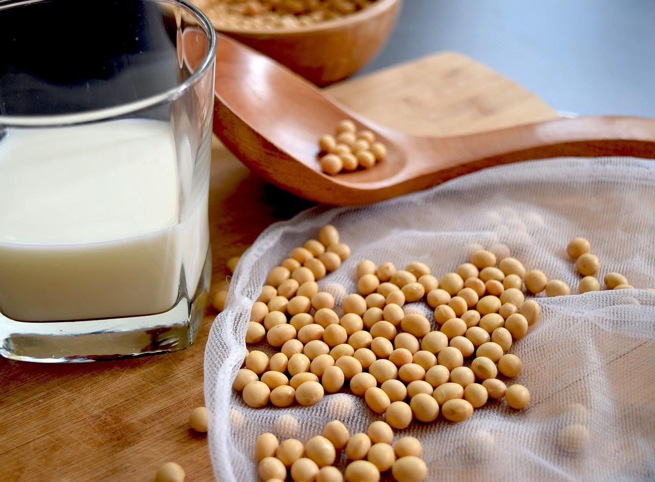 ▲黃豆,豆漿,豆乳,早餐,大豆異黃酮。(圖/翻攝自pixabay)