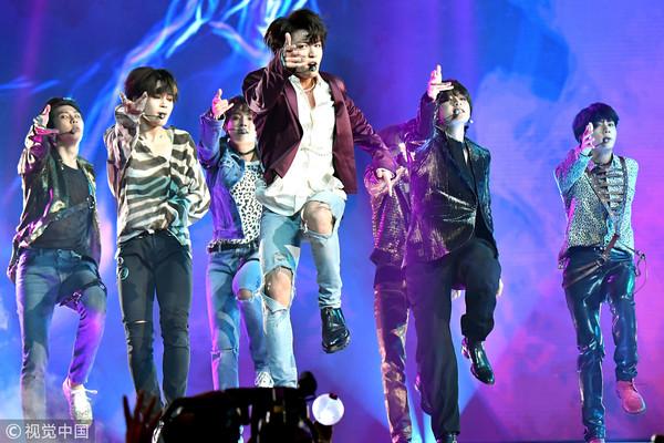 ▲▼防彈少年團(BTS)美國告示牌音樂獎頒獎典禮Billboard Music Awards。(圖/CFP)