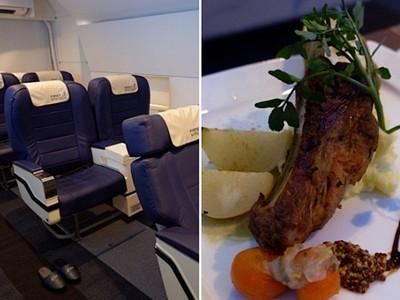 「頭等艙餐廳」豪華美食配VR 兩小時就飛世界歷史一圈♥
