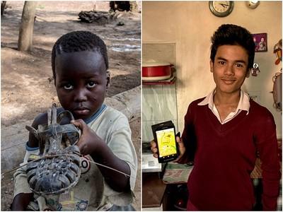 攝影師花15年拍下各國孩童玩具…他們的喜愛沒有貧富差距