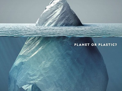 看到一座冰山嗎?揭曉照片真相後,你會慚愧地撿起垃圾