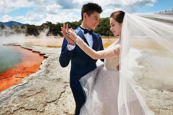 ▲▼吳奇隆、劉詩詩婚紗照掀起出國拍婚紗熱潮。(圖/資料照)