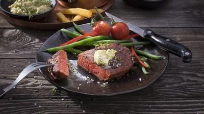 胖丁呷麵 全球首款「味道超葷」純植物牛排 素食者想吃肉瘋了?