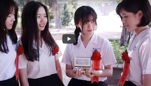 新竹女中畢業歌編曲超強!MV「顏質高到腿軟」 網淚推:被療癒了