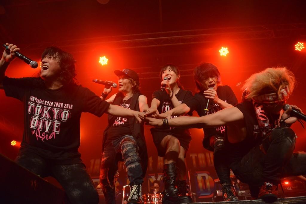 JAM Project訪台十週年連唱兩日  粉絲熱搖滾狂熱3小時