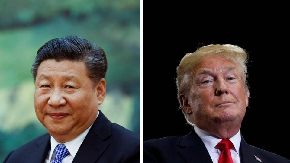 ▲中國國家主席習近平,美國總統川普。中美貿易戰對我們意謂著什麼?(合成圖/路透)
