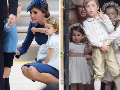 凱特「咬牙切齒罵小孩」!鏡頭捕捉王妃辛苦帶兒漏網畫面