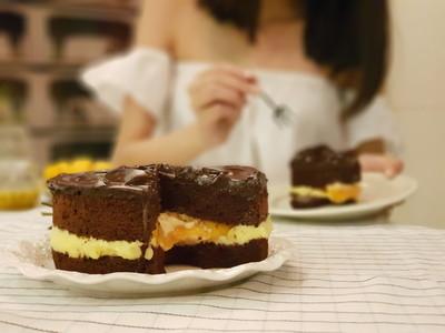 巧克力加芒果!BAC礦石蛋糕「爆餡果丁」