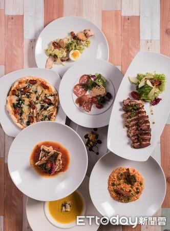 ▲丹耶澧義大利餐廳1999套餐。(圖/六福皇宮提供)