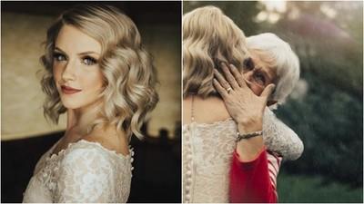 「我想穿一件有故事的禮服」孫女穿上奶奶的婚紗 傳承滿滿愛意與祝福