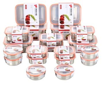 韓國火紅不鏽鋼保鮮盒 來台灣賣了!